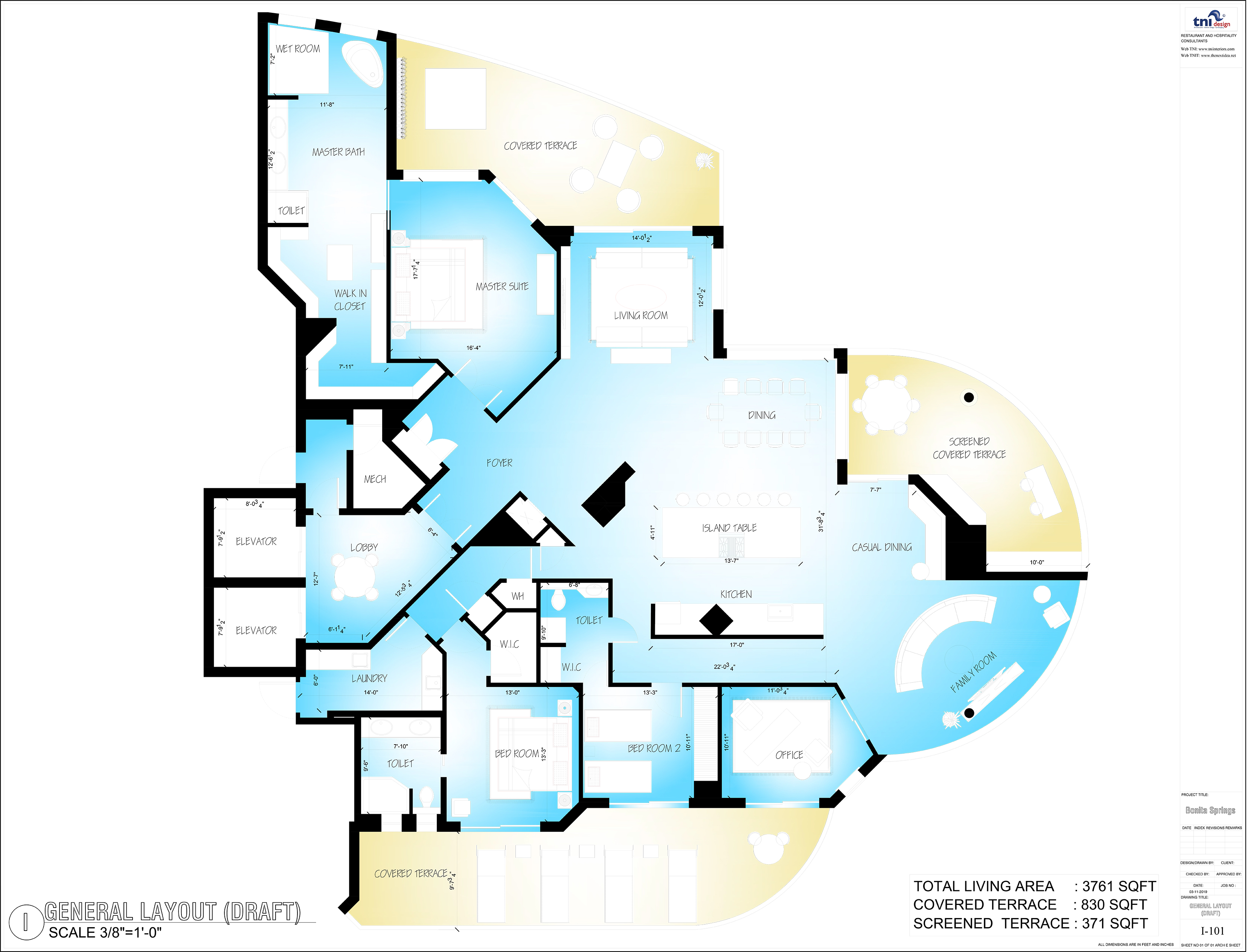 Residential 2D Layout